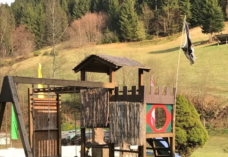Gaestehaus Absbachtal Spielplatz