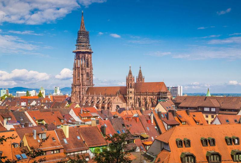 Freiburg Skyline